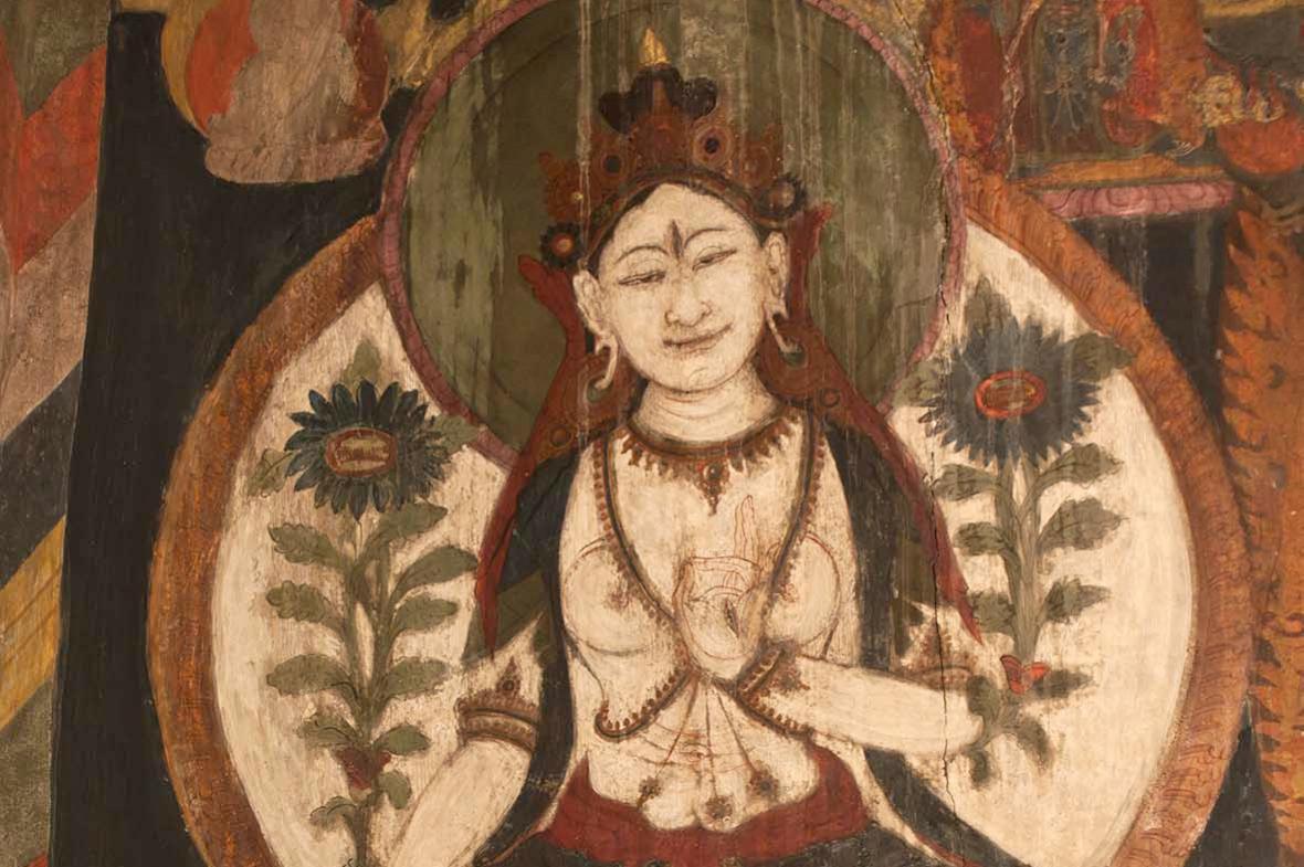 Tibetská výstava v Národní knihovně
