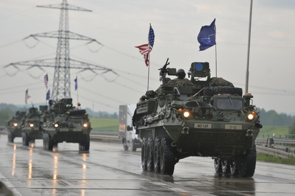Americký konvoj 2016