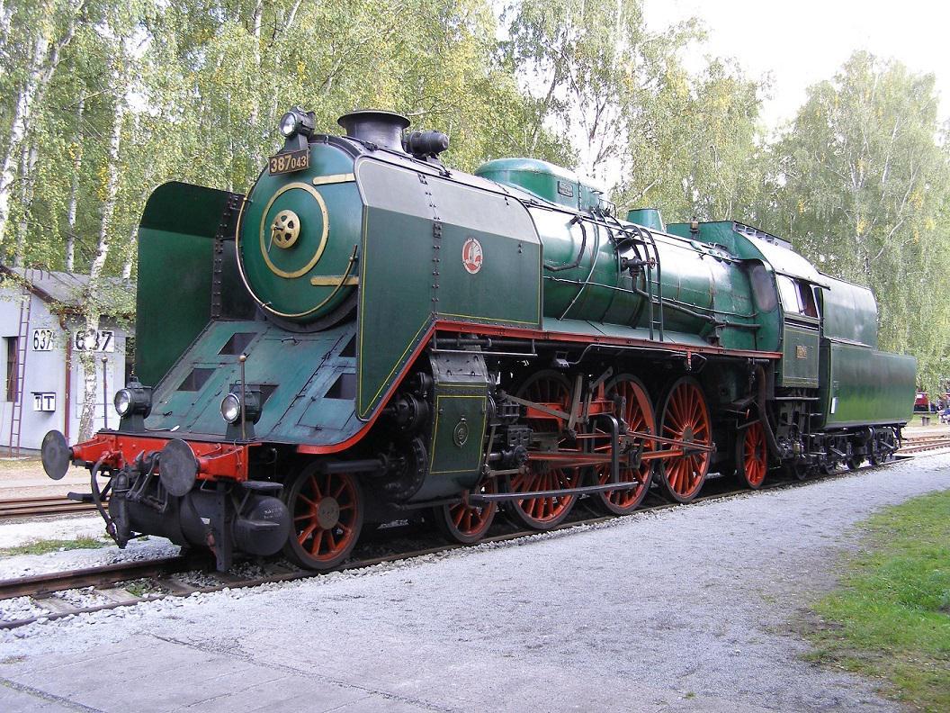 Muzejní lokomotiva