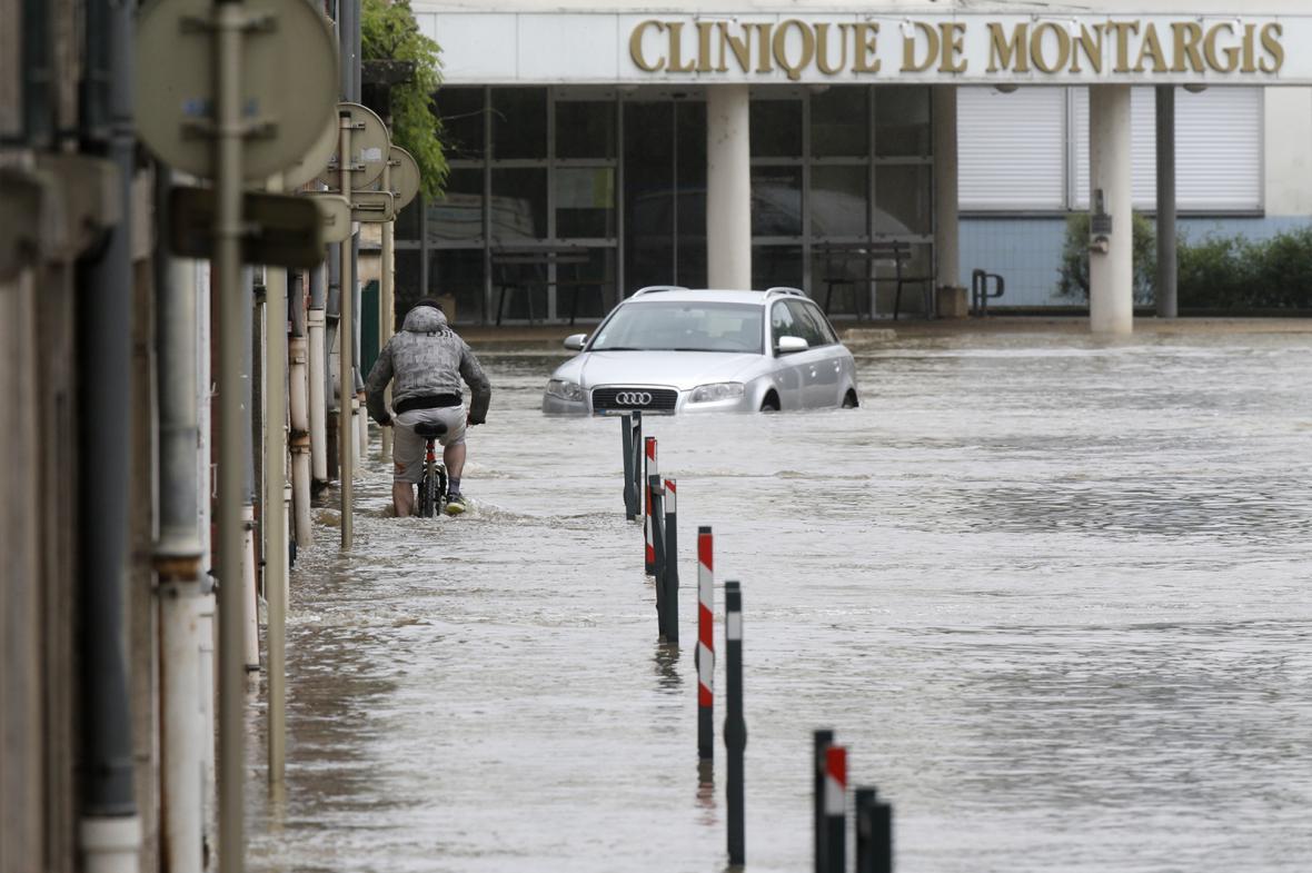 Záplavy v Paříži