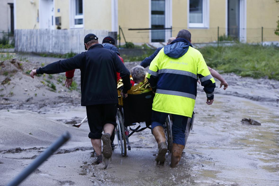 Záplavy v jihovýchodním Bavorsku