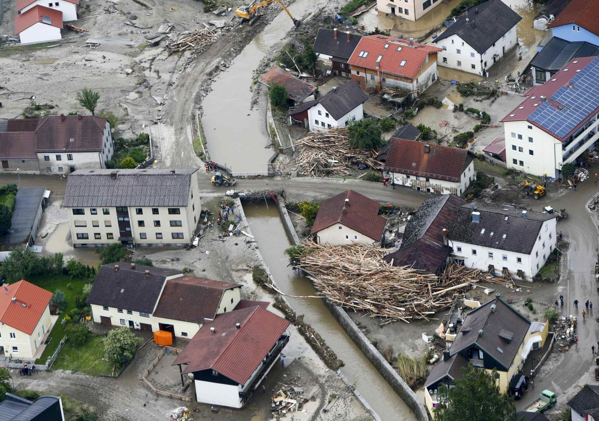 Záplavy v Bavorsku