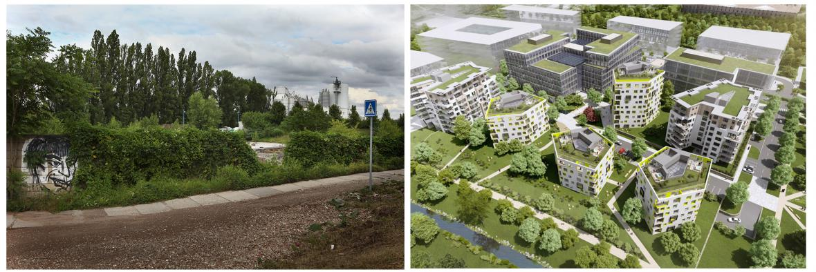 Proměna pražských brownfieldů