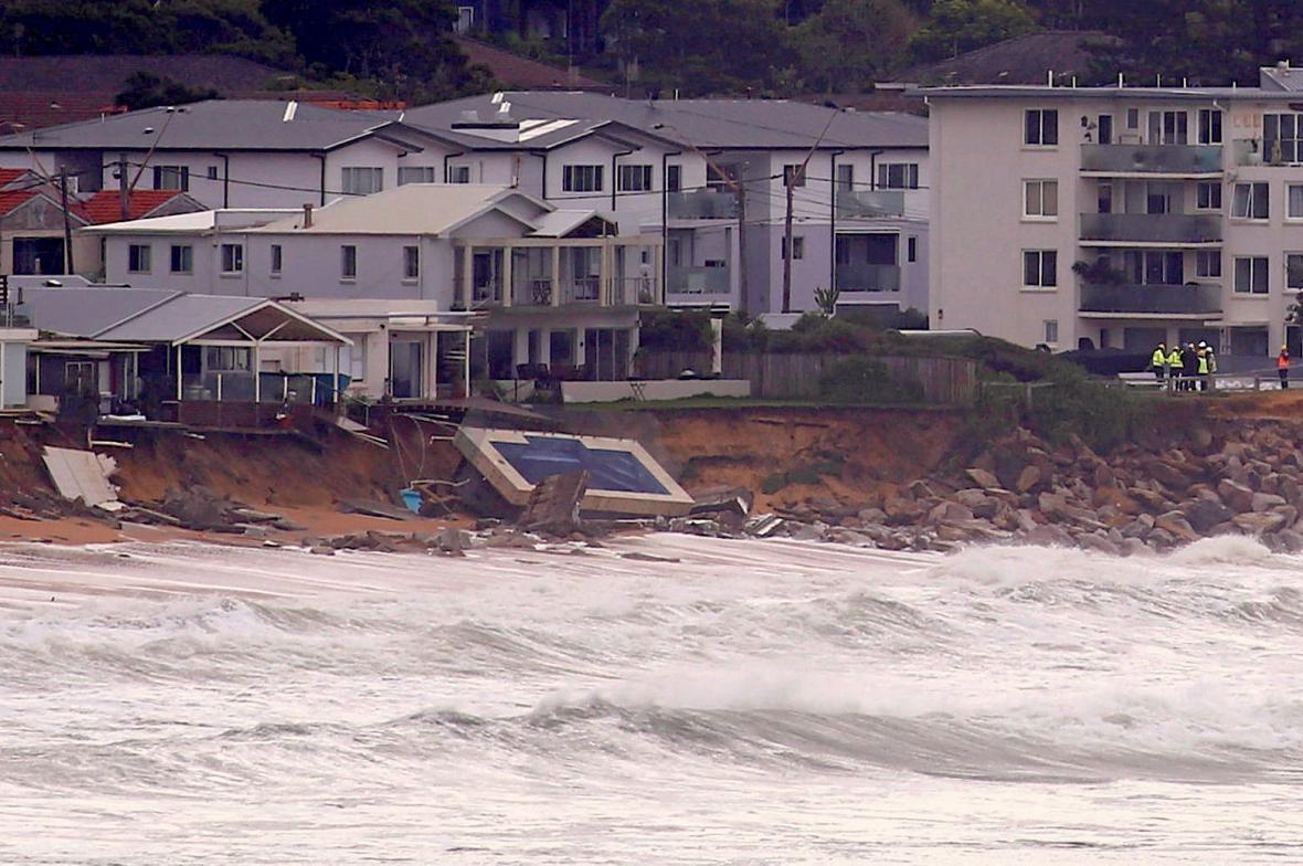 Bouře a záplavy v Austrálii
