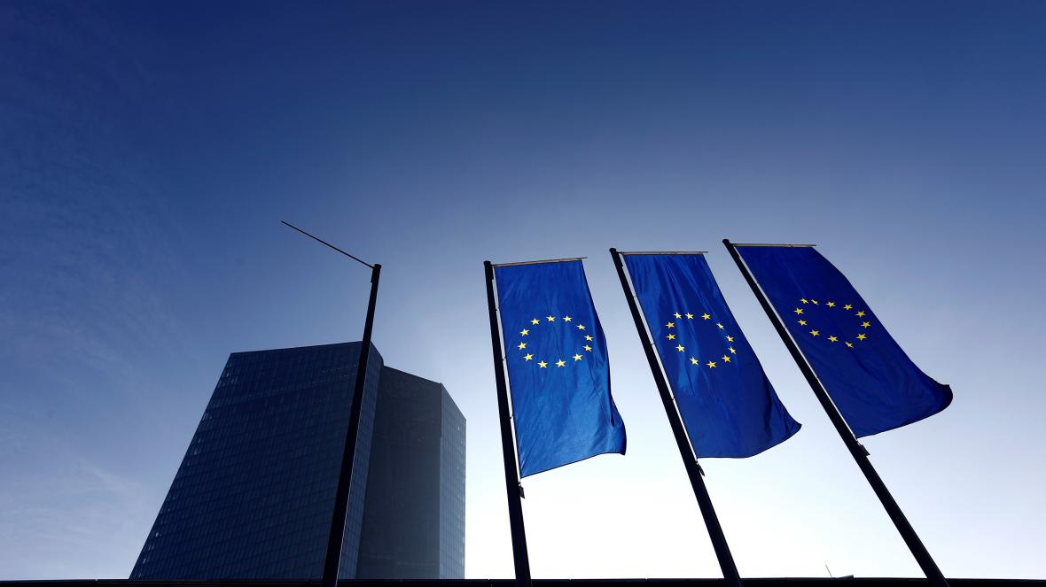 Sídlo ECB ve Frankfurtu nad Mohanem