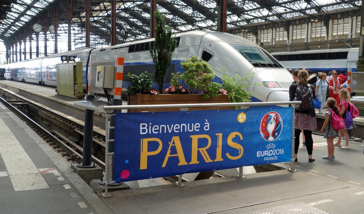 Pařížské vlakové nádraží Gare de Lyon