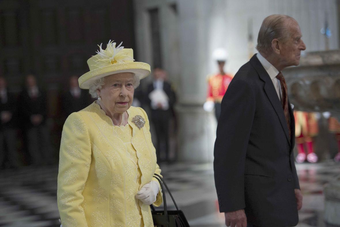U svatého Pavla začaly oslavy narozenin britské královny