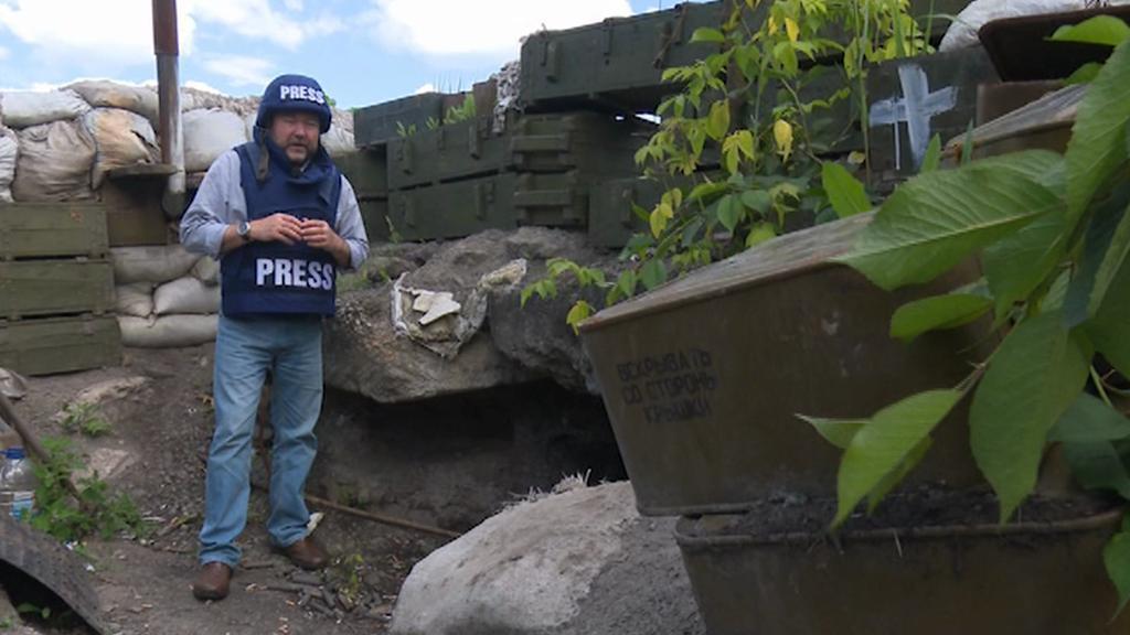 Miroslav Karas na bojové linii