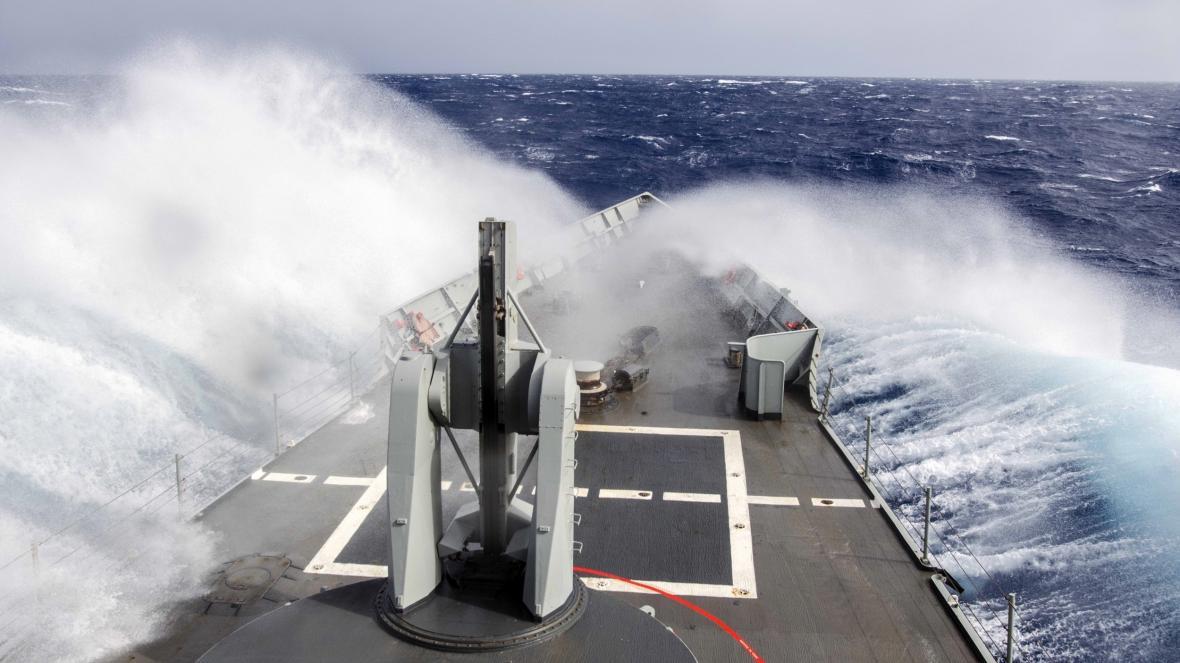 Španělská loď se účastnila operace Sophia
