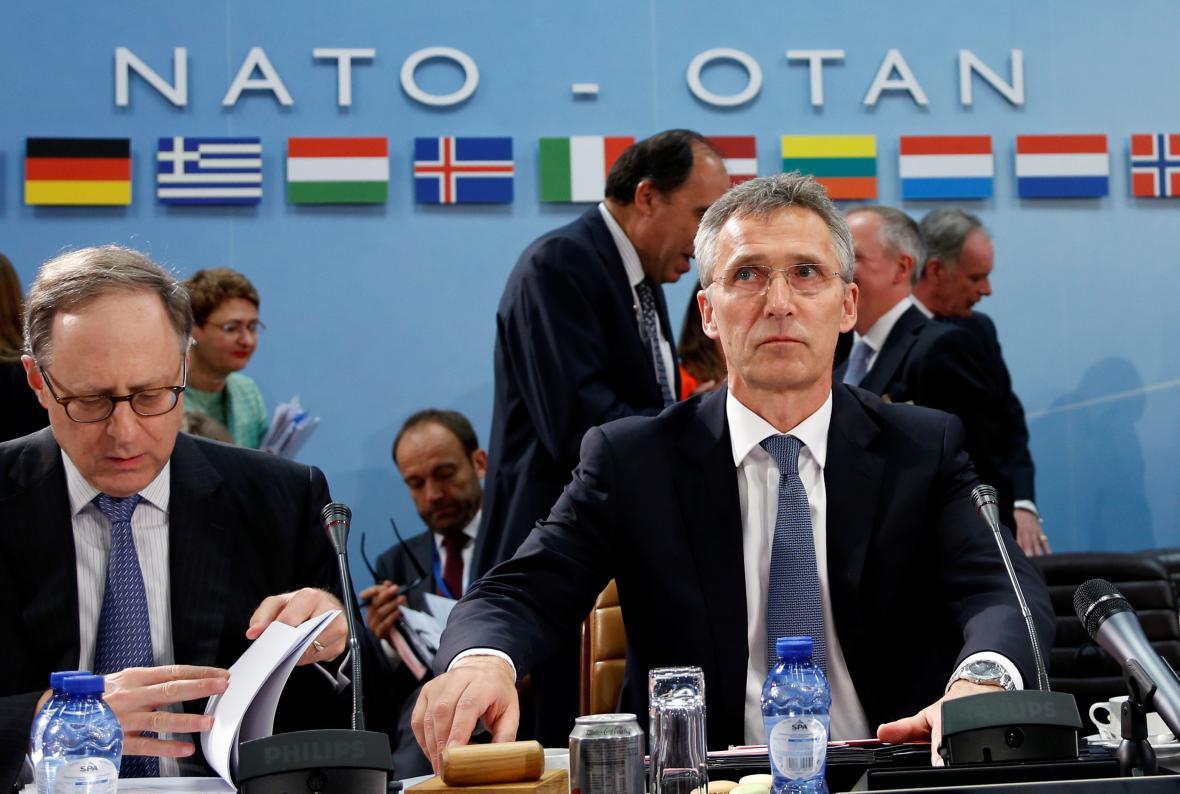 Generální tajemník NATO Jens Stoltenberg