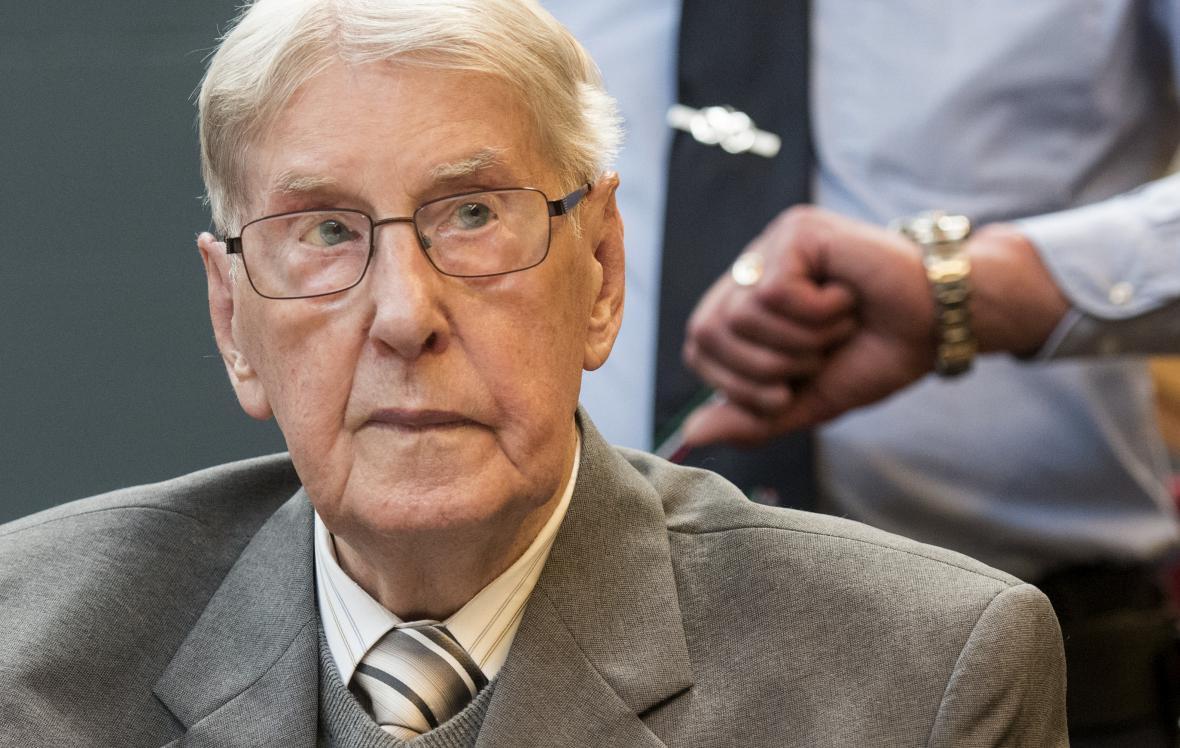 Bývalý osvětimský dozorce Reinhold Hanning