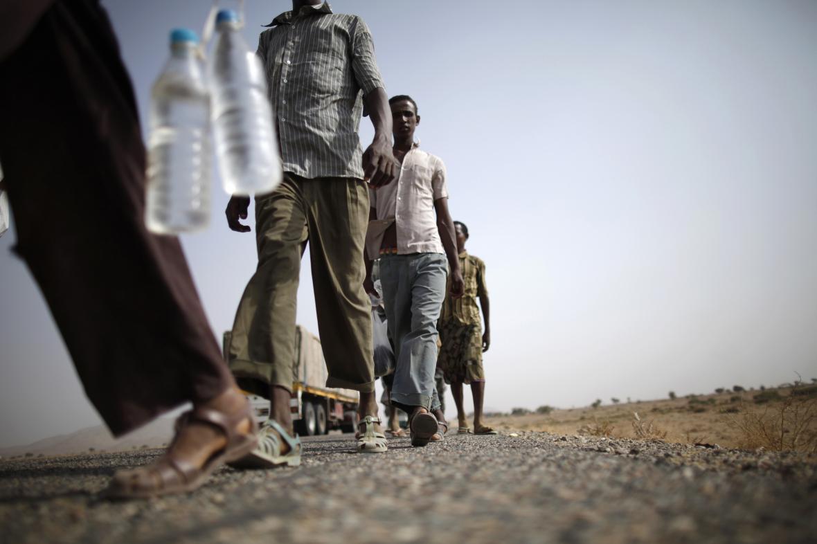 Uprchlíci z Etiopie