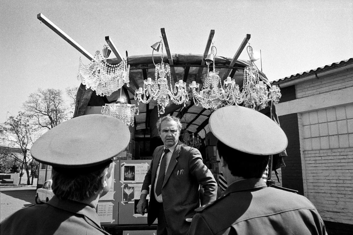 Mezi Moskvou a Milovicemi byl během pobytu sovětských vojsk zaveden přímý vlakový spoj - Milovice 1991