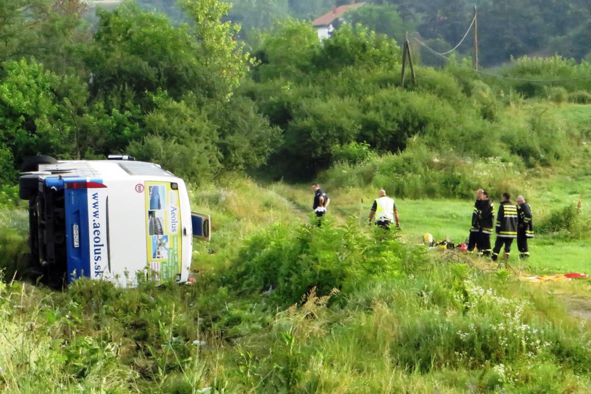 Nehoda v Srbsku