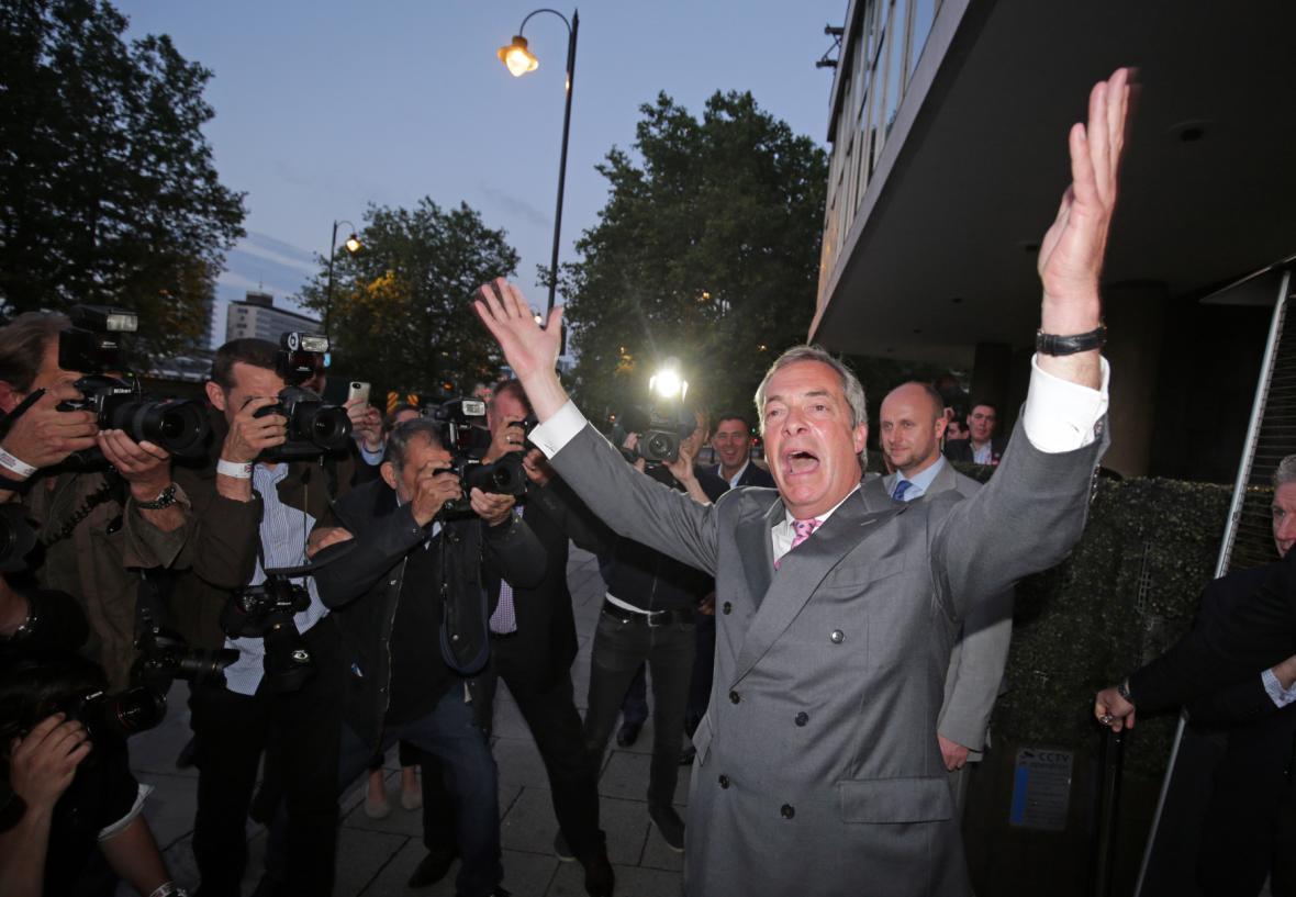 Británie odchází z EU