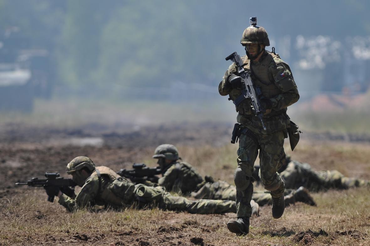 Den pozemního vojska Bahna 2016