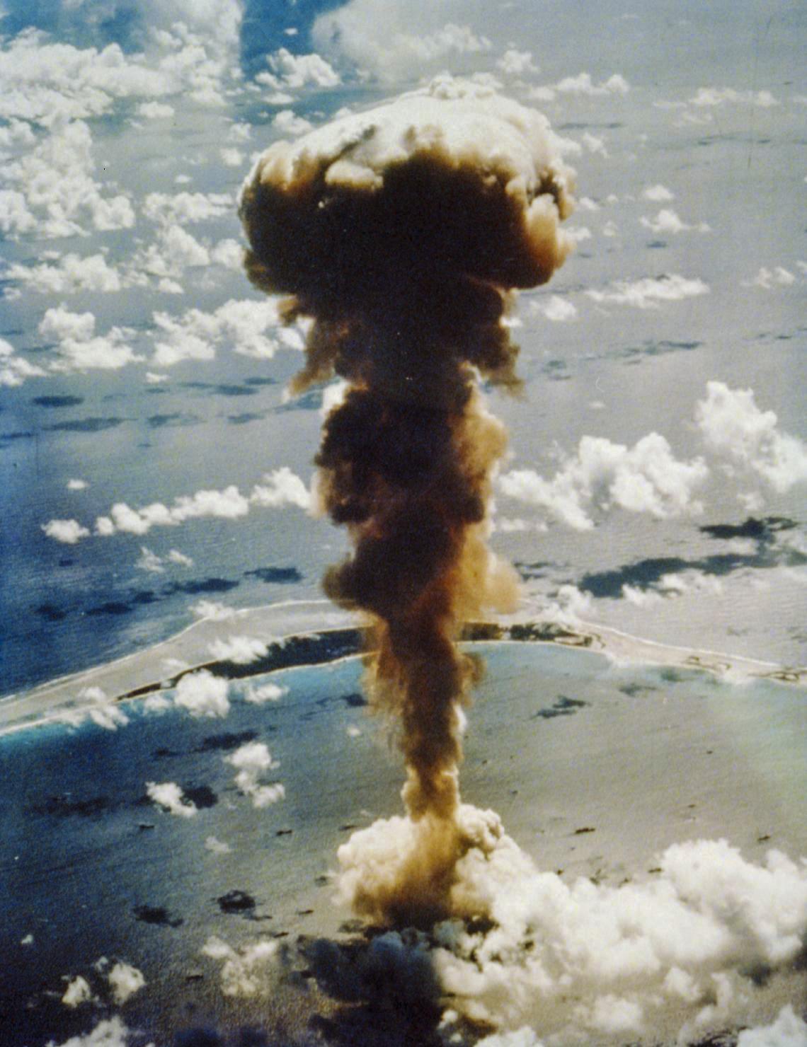 Jaderný test na atolu Bikini