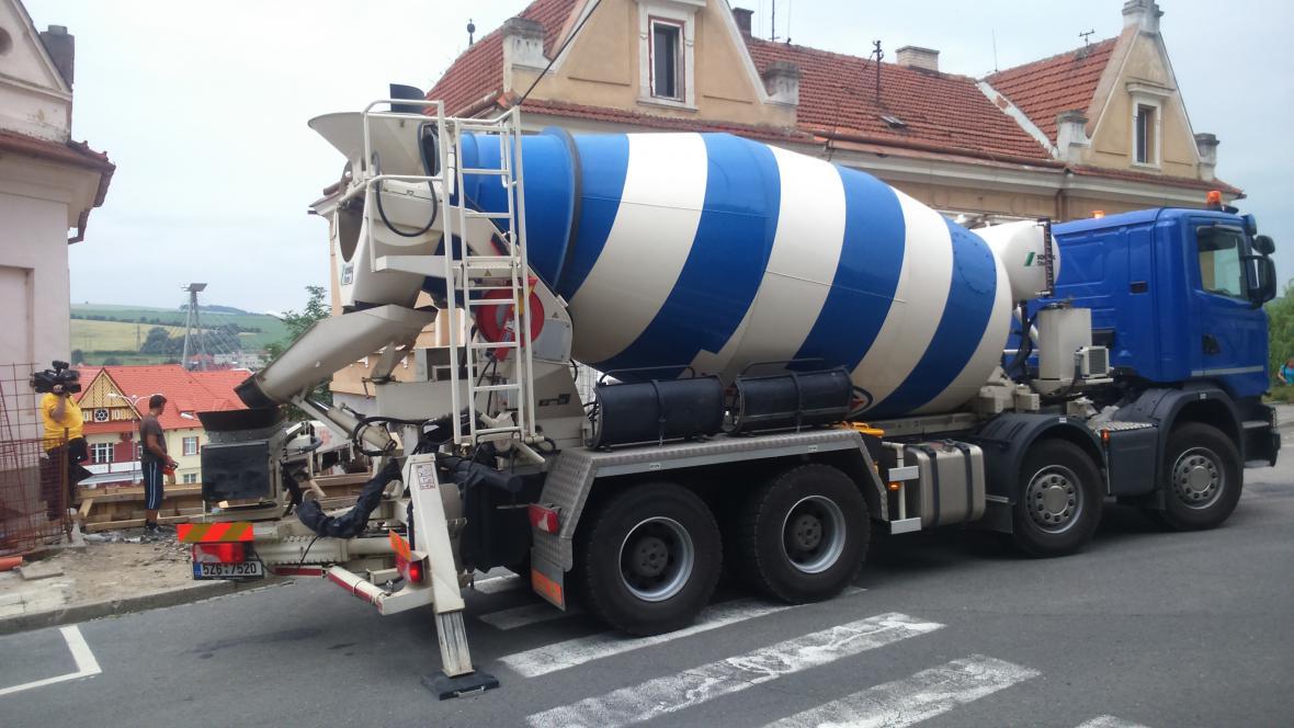Rekonstrukce takzvaných velkých schodů v Uherském Brodu