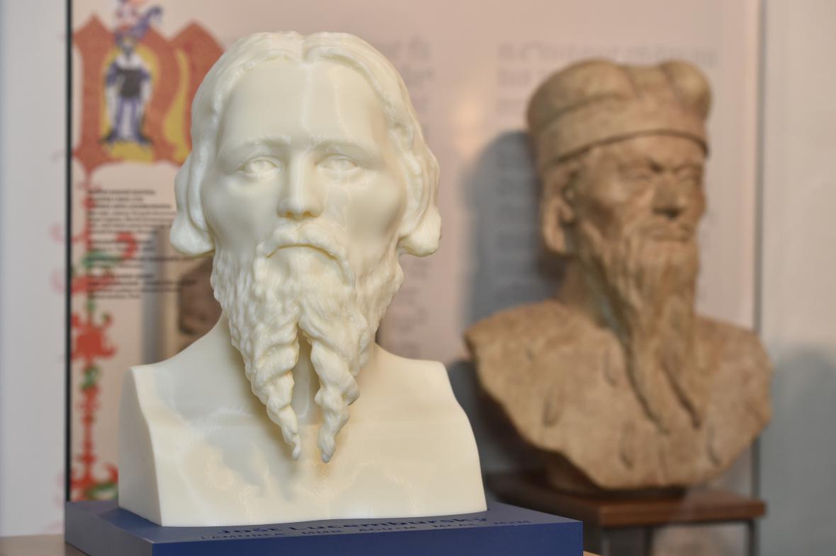 Při tvorbě modelu měli historici měli jen dvě iluminace Jošta
