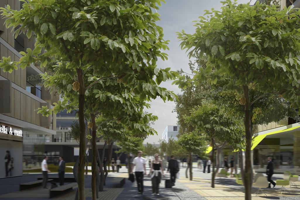 Vizualizace Smíchov City
