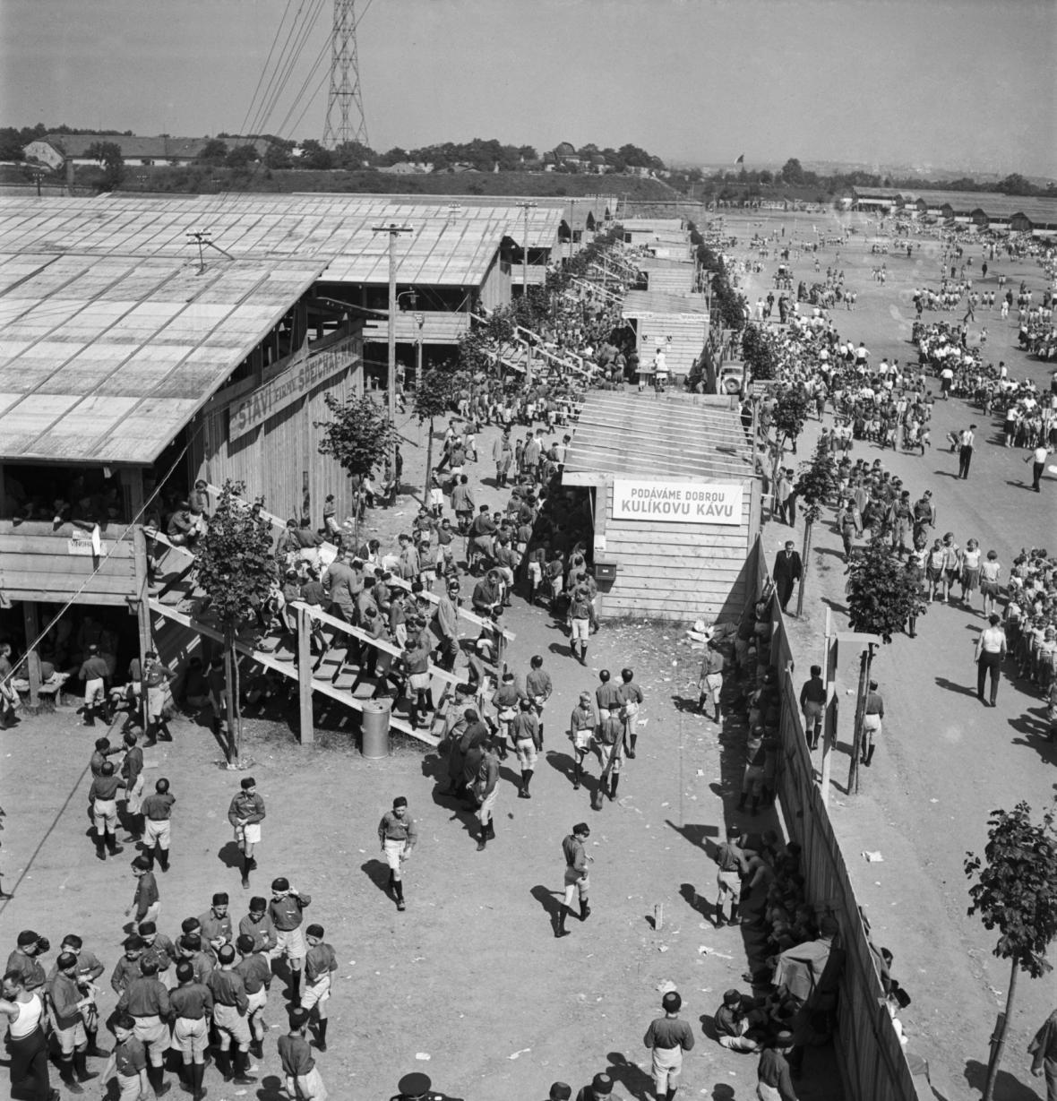 Historie strahovského stadionu