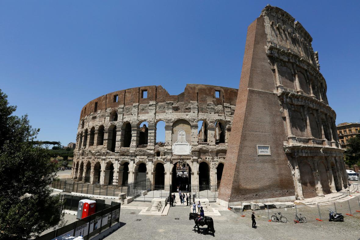 Koloseum prošlo očistnou kúrou
