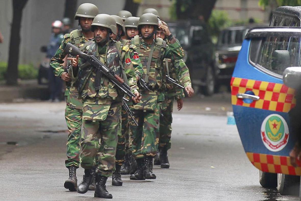 Bangladéšští vojáci