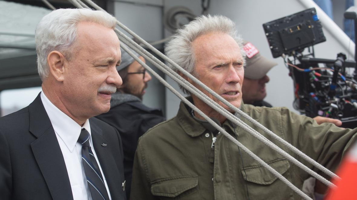 Tom Hanks a Clint Eastwood