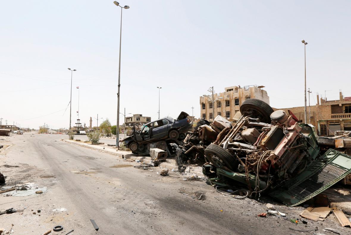 Irácká Fallúdža po vyhnání islamistů