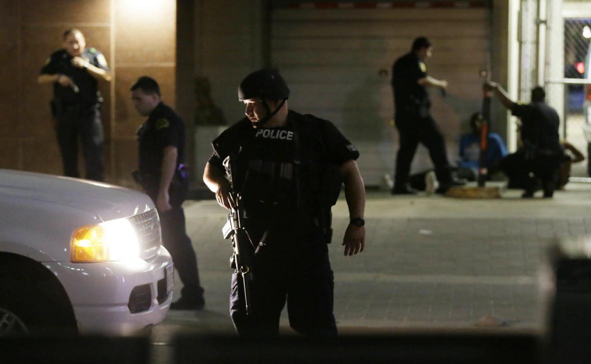 Policejní zásah v Dallasu