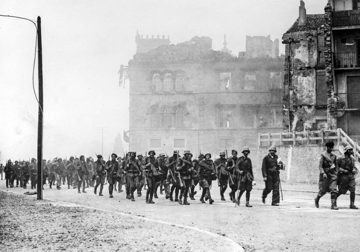 občanská válka ve Španělsku