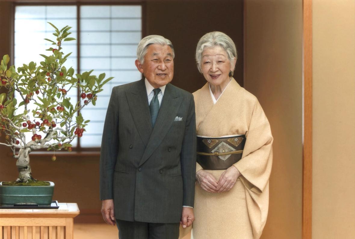 Japonský císařský pár