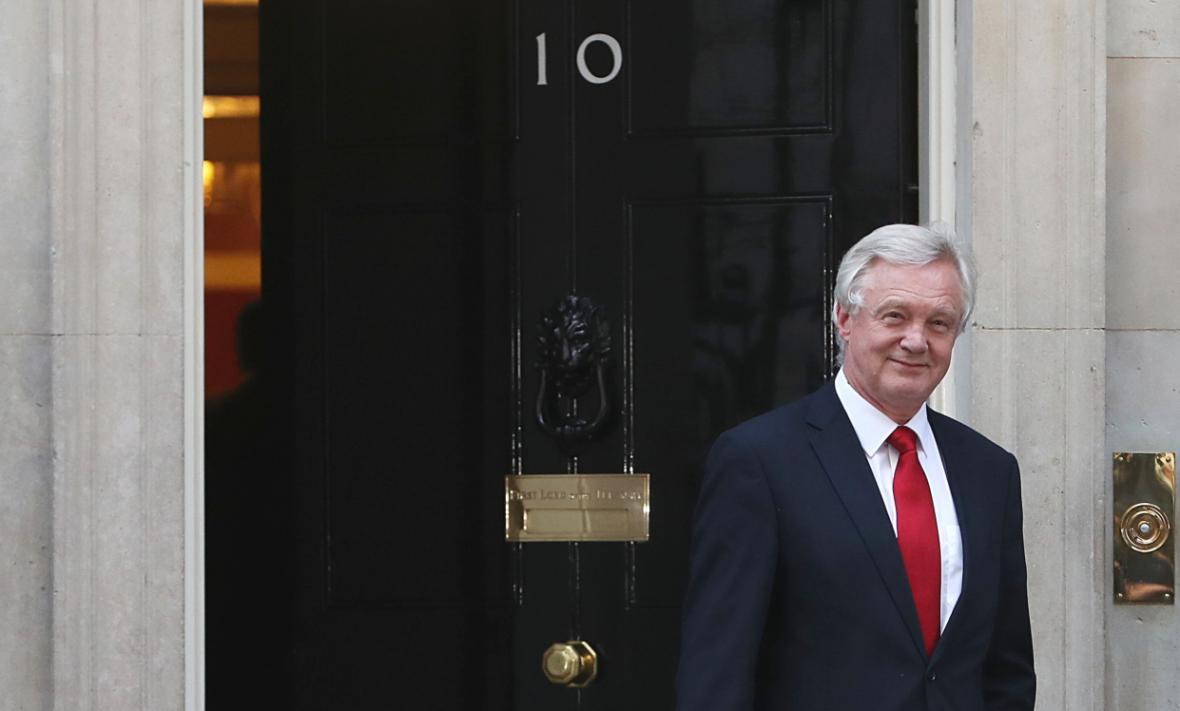 Britský ministr pro záležitosti brexitu David Davis