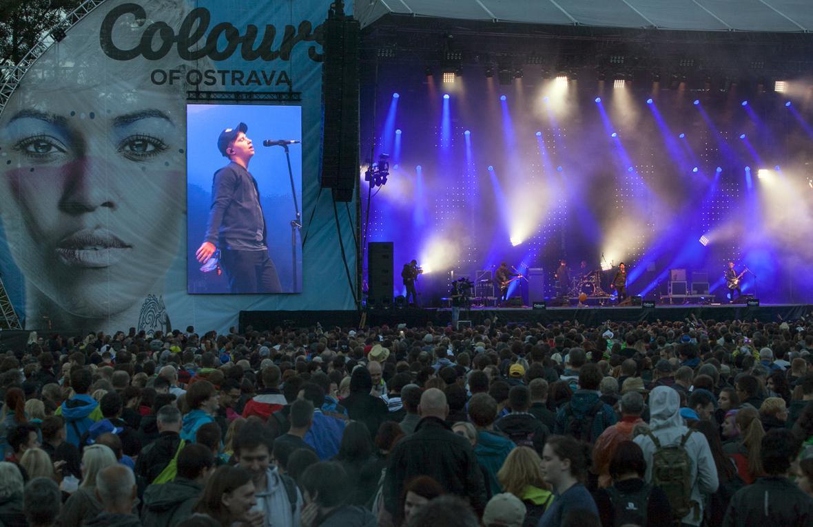 Colours of Ostrava 2016 - den první