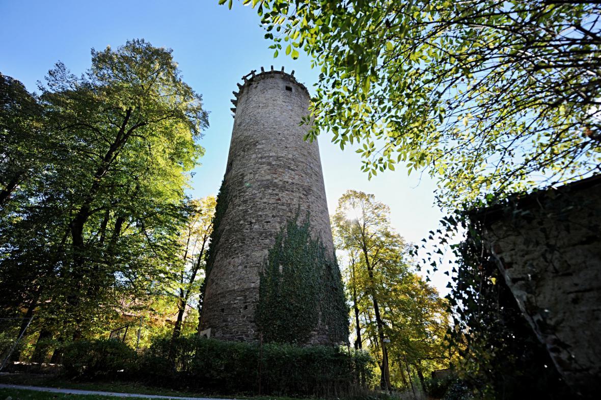 Věž jakobínka v Rožmberku nad Vltavou