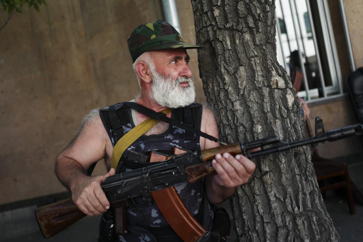 Arménský ozbrojenec