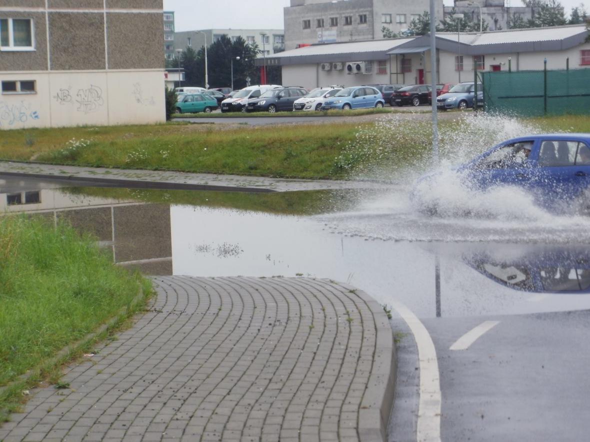 Po dešti v Žatci