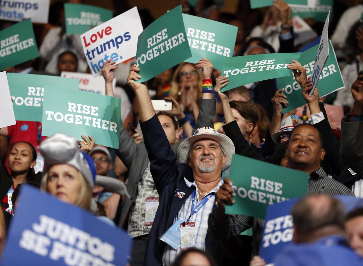 Sjezd demokratů ve Filadelfii