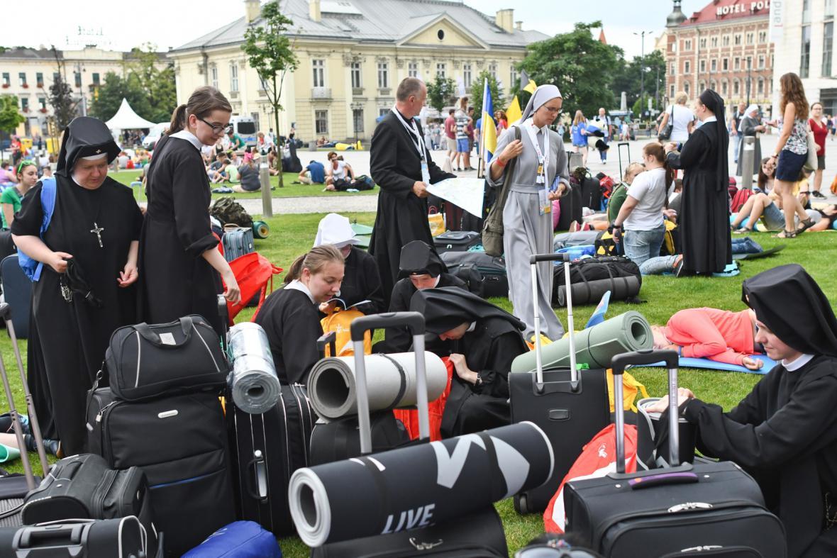 Polsko se chystá na největší shromáždění křesťanů v zemi.  Hlavní události Světových dnů mládeže se budou odehrávat v areálu kampusu Misericordiae v obci Brzegi poblíž Krakova.