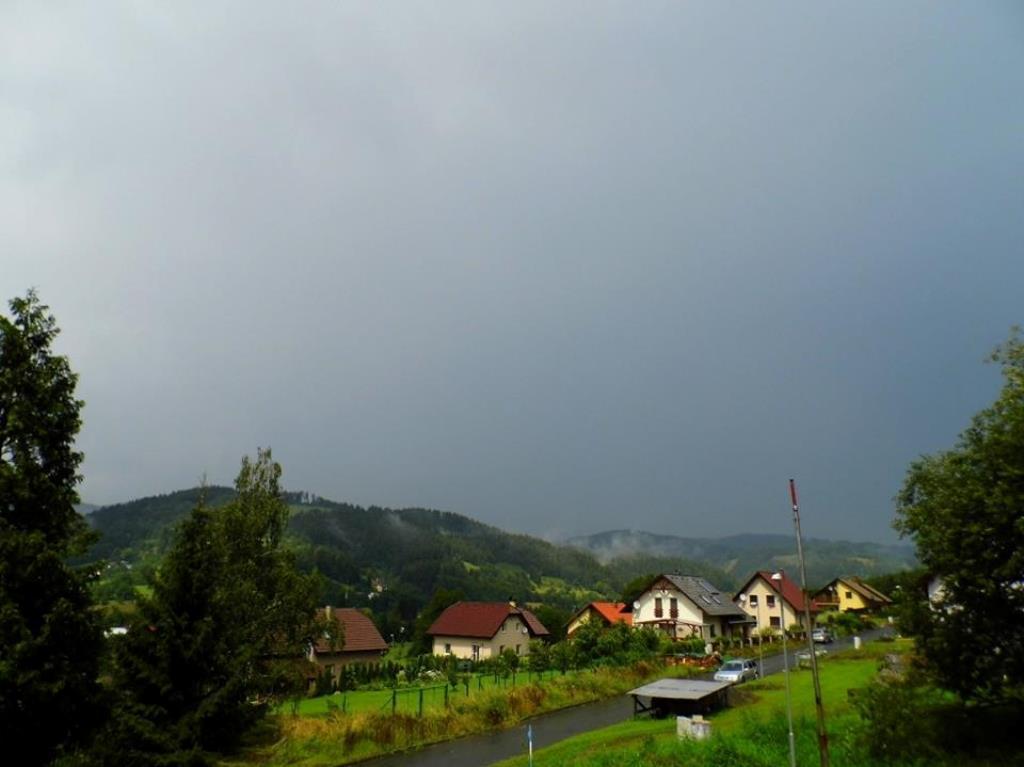 Bouřka v Halenkově