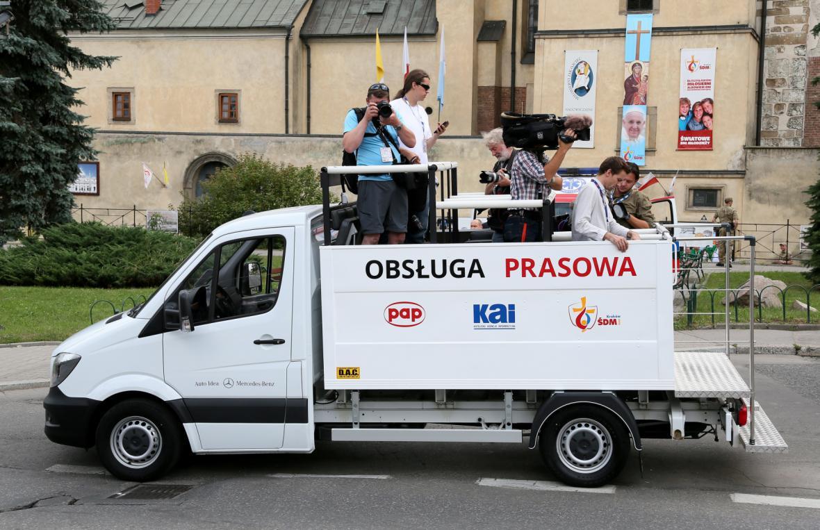 Papež František v Polsku