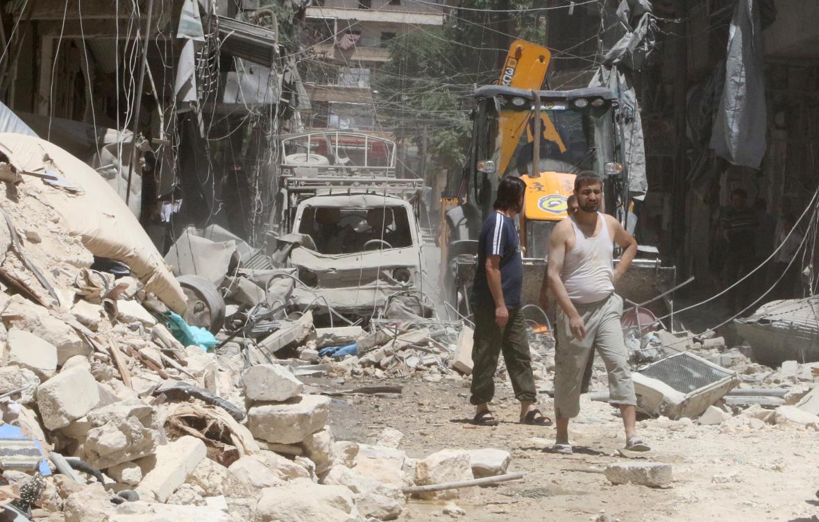 Boje o Aleppo