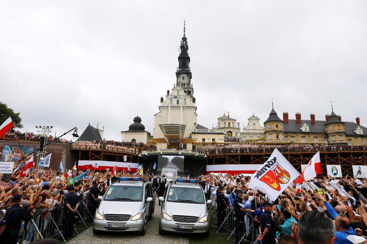 Návštěva papeže v nejposvátnějším místě Polska