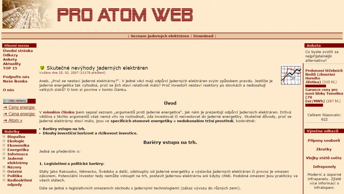 Proatom Web