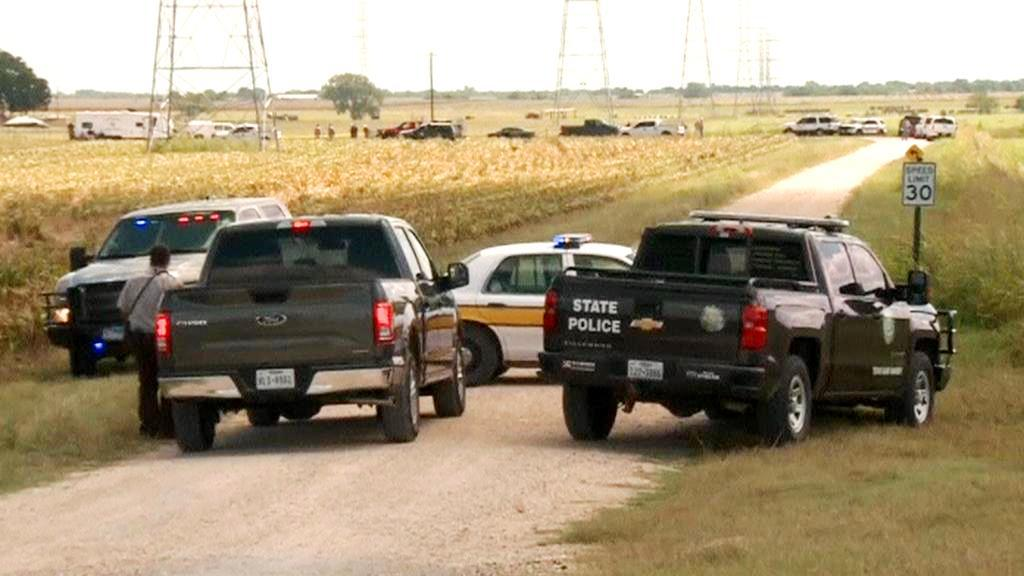 Vyšetřování pádu balónu v Texasu