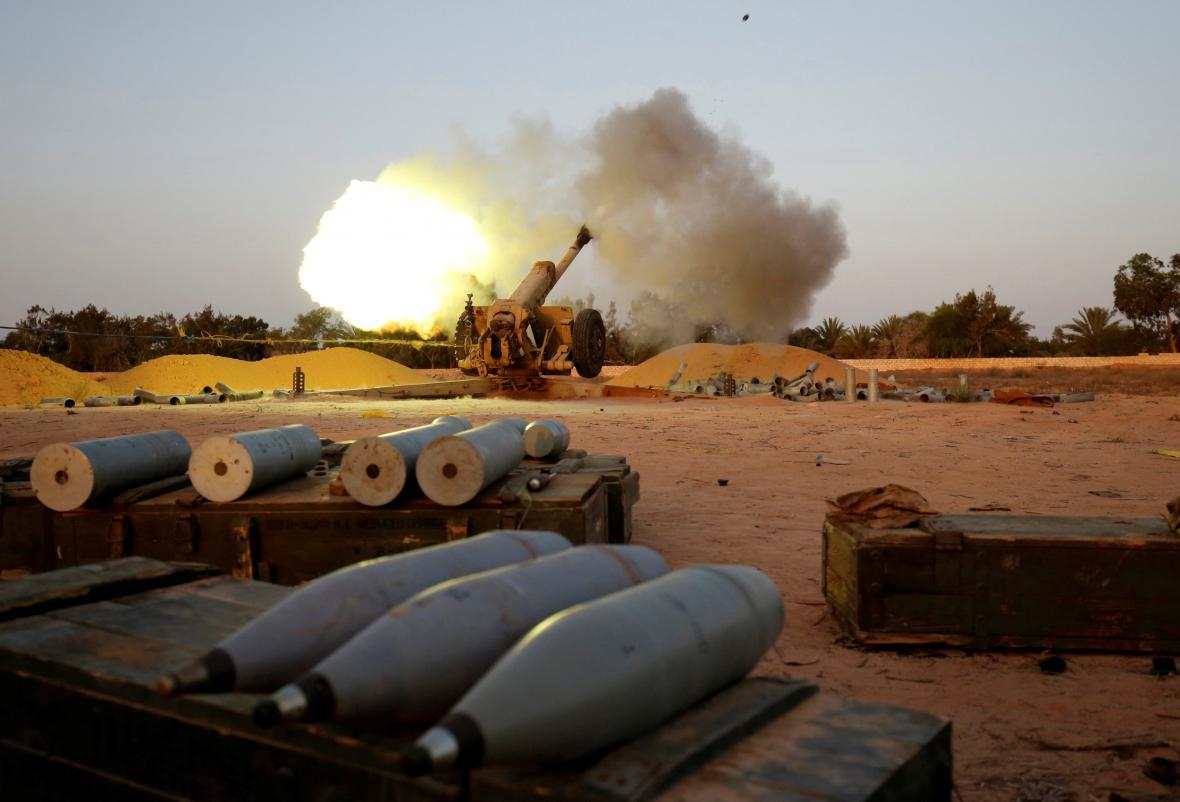 Boje proti islamistům v Libyi