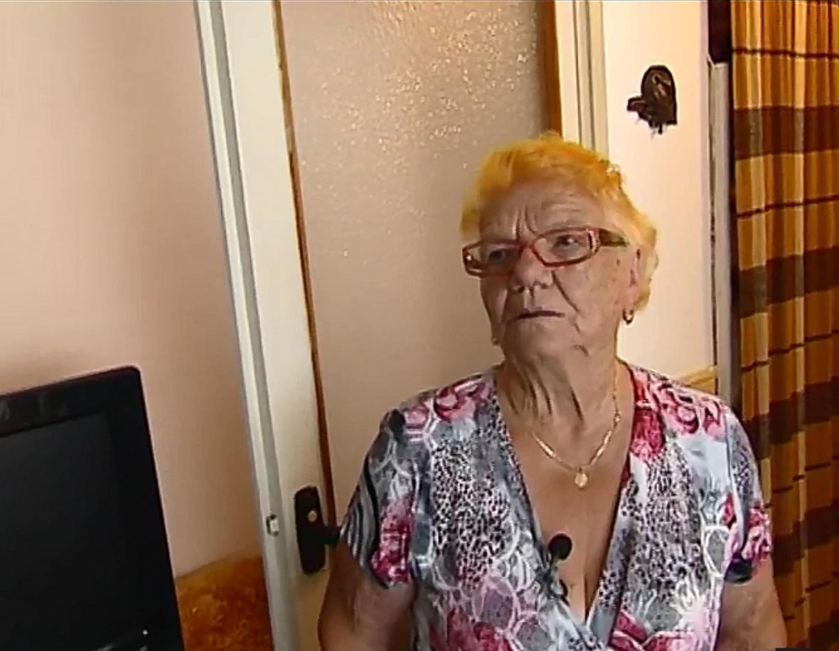 Dobrovolnice Irma Marešová