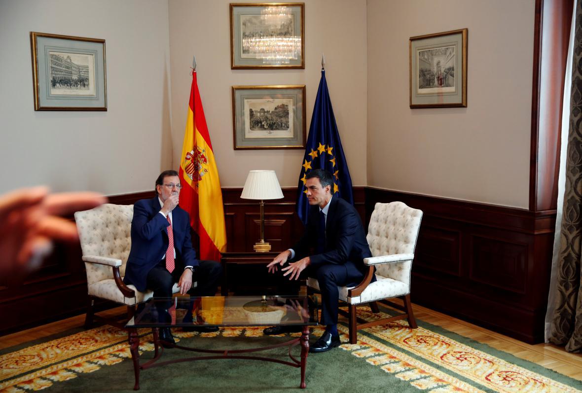 Mariano Rajoy a Pedro Sánchez