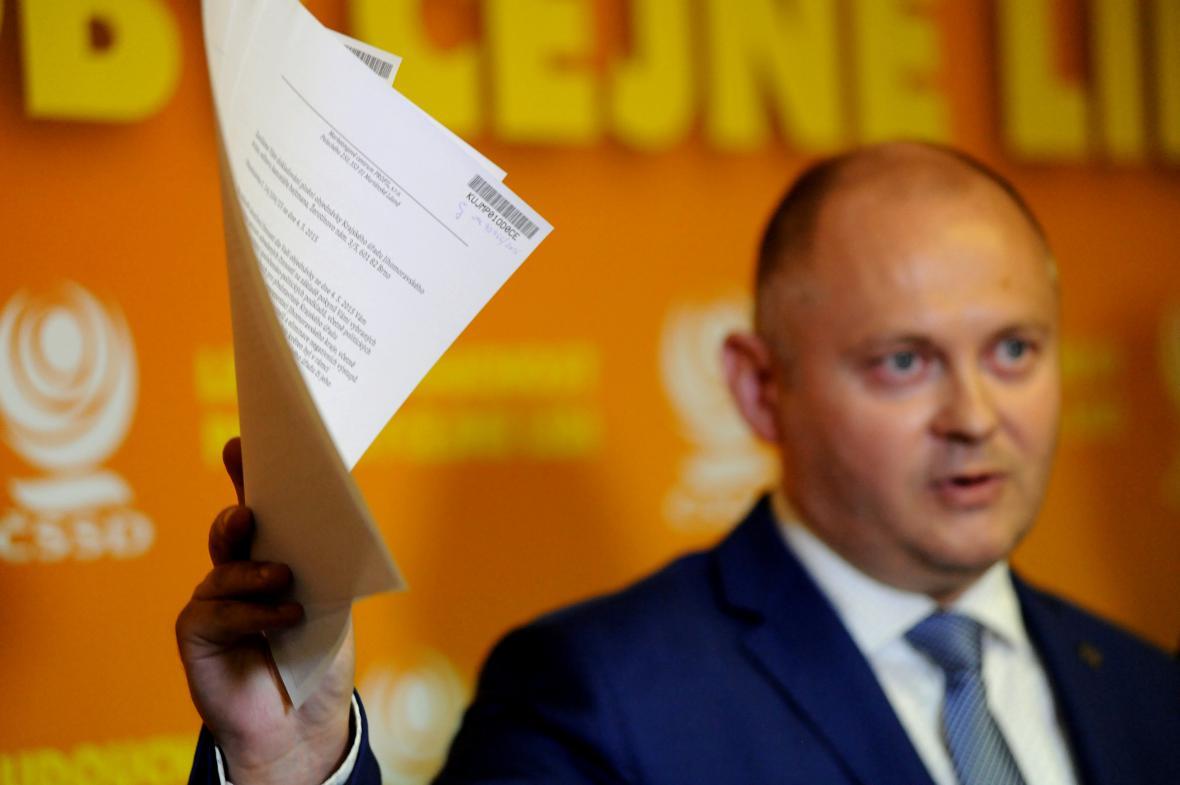 Haškovo vysvětlení sociálním demokratům a lidovcům stačilo