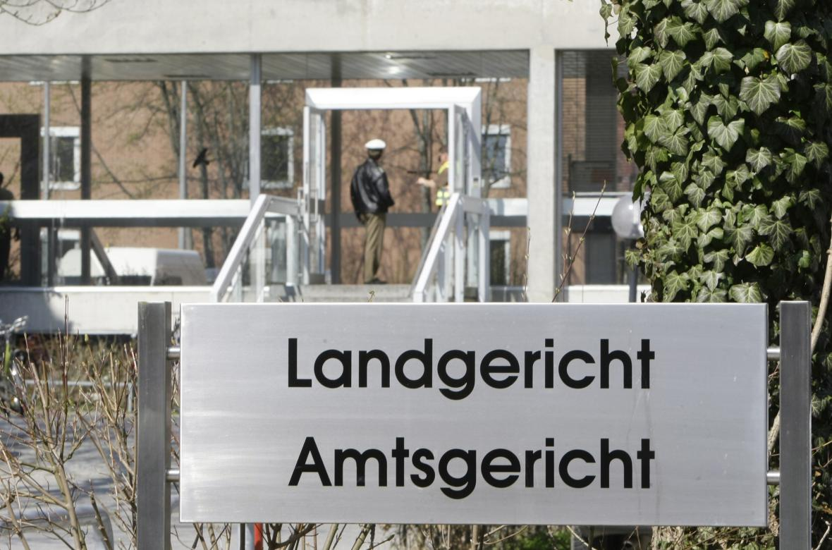 Soud v bavorském městě Landshut